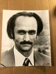 John Cazale Extremely Rare Autographed 7/9 Photo Godfather Dog Day Deer D.and03978