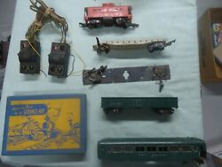 American Flyer 26 Service Kit And Reading Caboose 630 And Gondola 631