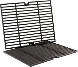 Matte Enamel Cast Iron Cooking Grates Grid 16.5 2-pack Replacement For Kenmore