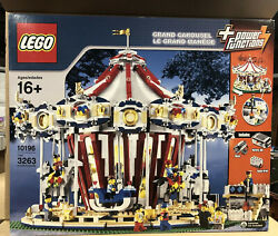 Lego Creator 10196 Grand Carousel - Merry Go Round - Power Functions -new Sealed