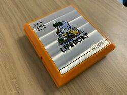 Nintendo Game And Watch Life Boat 1983 Lcd Vintage Electronic Game - Near Mint.