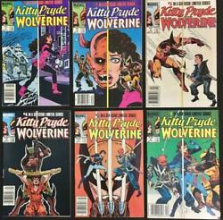 Marvel Com Kitty Pryde And Wolver Kitty Pryde And Wolverine Complete Series Ex