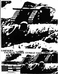 Perry Moore Dtp War Game Landships - Tactical Armor Combat 1916-18 1st Ed Nm