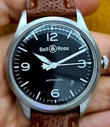 Bell And Ross Watch Brv1-92 Vintage Military Black Mens Automatic ..