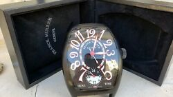Franck Muller Table Travel Alarm Dual Time Clock - Limited Edition