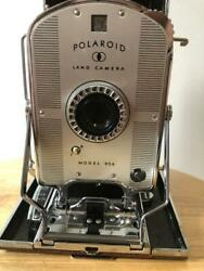 Vintage Collectible Polaroid Land Instant Folding Camera Model 95a With Case