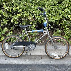 Early 80's Team Murray Chrome Bmx Vintage Bike Bicycle August 1983