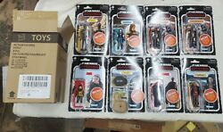 Star Wars The Mandalorian The Retro Collection Wave 1 Case Sealed In Hand Stock