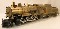 O2r Brass Us Hobbies Union Pacific /others 0-8-0 Switching Loco W/vandy Coal Ten