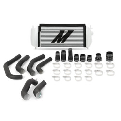 Mishimoto Silver Intercooler W/ Black Piping For 15-17 Ford F150 2.7l Ecoboost
