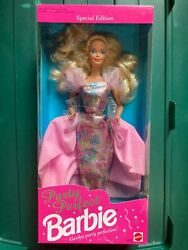 NEW PARTY PERFECT SPECIAL EDITION BARBIE GARDEN PARTY 1992 NIB NRFB #1876