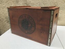 Rare Vintage Procter And Gamble Ivory Soap Wood Box Crate Promo Large 18x12 Wow