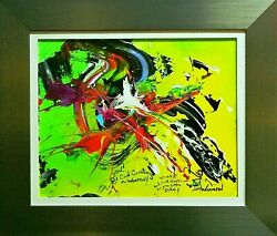 Jim Warren-cool Creatures And Cool Shorts-framed Original Acryl/canvas/signed/coa