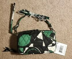 Vera Bradley Imperial Rose All in One Crossbody For IPhone 6 Wallet Wristlet NW $22.00