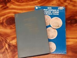 Pair Of Vintage Catalogues Of Canadian Coins Tokens And Paper Money 1962 And 1975