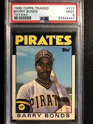 1986 Topps Traded Barry Bonds Psa 9 Pwcc-a