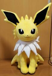 Pokemon Center Online Limited Jolteon Plush Doll Life Size With Tag