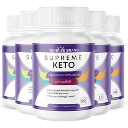 Keto Advanced With Bhb Weight Loss Exogenous Ketones - 300 Capsules - 5 Pack