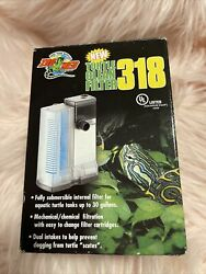 Zoo Med Turtle Clean Filter 318 Submersible Up to 30 Gal Dual Intake BRAND NEW