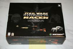 Nintendo 64 N64 Star Wars Episode I Racer Limited Ed. Console - New Sealed Rare