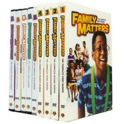 Family Matters: The Complete Series Seasons 1 9 DVD 27 Disc Box Set Brand New