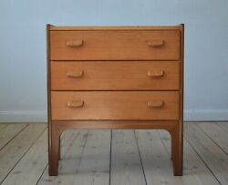 Danish Mid-century Teak Chest Of Drawers, Poul Volther, 1960s.