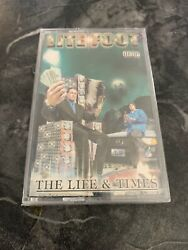 Litefoot The Life And Timessealedcassette G Funk Ultra Rare Tony G Pen And Pixel