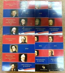 2007-2012 Pandd Presidential 1 Coin Uncirculated Sets Sealed Bu Unc Ogp