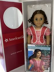American Girl Doll Marie-grace Marie Grace 1850's New Orleans Retired In Box