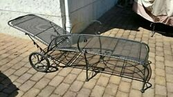 Vintage Cast Iron Lounge Chair - Great Quality And Details