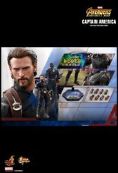 Captain America 1/6th Scale Figure Mms480 Andndash Avengers Infinity War- Hot Toys