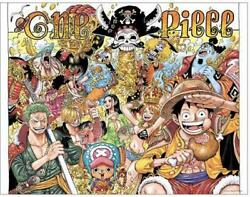 One Piece Full Color Big Art Board 1000th Episode Commemoration Build-to-order