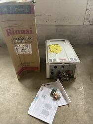 Rinnai V65en 6.5 Gpm Outdoor Natural Gas Tankless Water Heater S-23 151