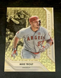 Mike Trout 2020 Bowman Sterling True Superfractor 1/1 - Angels Wow