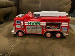 Hess 2005 Emergency Fire Truck With Rescue Vehicle