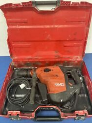 Hilti Te 70-atc/avr Rotary/chipping Hammer Drill In Hard Case