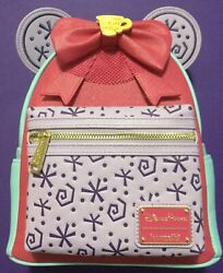 Disney Parks Minnie Main Mma March Tea Cups Loungefly Backpack Nwt Rare