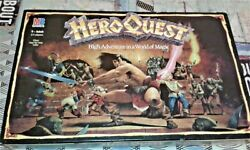 Hero Quest Mb Games 1989 Mb 4271 Gb Almost Complete See All 11 Images And Info