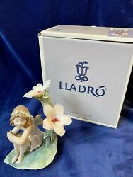 Lladro Lakeside Daydream Signed Item 6644 Retired Mint With Original Box