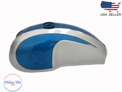 Benelli Mojave Cafe Racer 260 360 Blueandsilver Pain Aluminum Petrol Tank |fit For