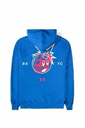 Bored Ape Yacht Club X The Hundreds Hoodie Sweatshirt - Large - Sold Out - Blue
