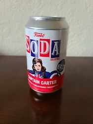 New Sealed Funko Soda-marvel What If- Captain Carter Chance Of Chase