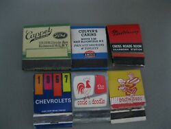Lot Of 6 Matchbooks Matchcover Cappel Ford New York