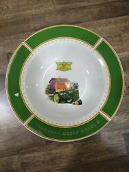 John Deere Dishes 1935 Model B Tractor By Gibson With Coffee Mug