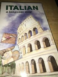 Learn Italian for Travel Language Map: Hotels Numbers Dining Shopping Gift Idea $11.99