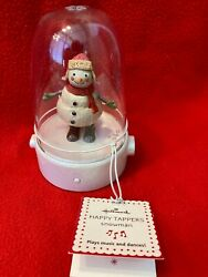Hallmark 2008 Happy Tappers Christmas Snowman Dancing And Music - New-free Ship