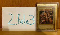 Never Played Yu-gi-oh The Winged Dragon Of Ra Gbi-003 1st Edition Ultra Rare