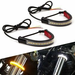 Motorcycle Sequential Switchback Flowing Led Tail Brake Turn Signal Strips Light