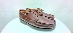 Paraboot 4x4 Thiers 435 Fr Uk 9.5 Us10.5 Leather Brown Shoes Worldwide Shipping