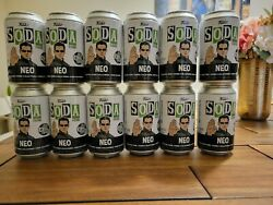 Funko Pop Soda Neo The Matrix Keanu Reeves 10000 Le Sealed Chance At Chase